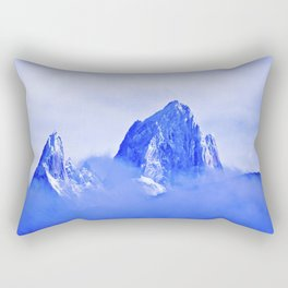 Two mountains. Rectangular Pillow