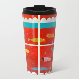 In the clouds Travel Mug