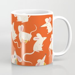 Happy mice pattern Coffee Mug