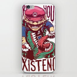 Earn Your Existence with Super Mario iPhone Skin
