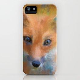 Feeling Foxy iPhone Case