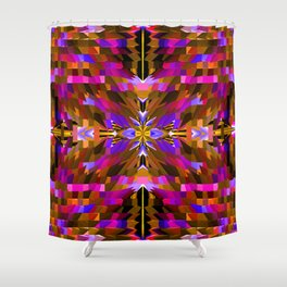 Masked at the party.... Shower Curtain