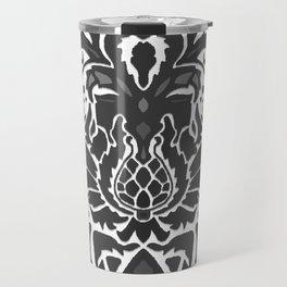 Aya damask mono Travel Mug