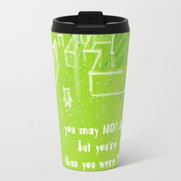 Farther away Travel Mug