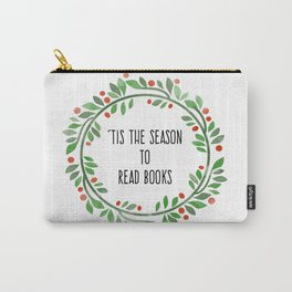 Tis the season to read books Carry-All Pouch