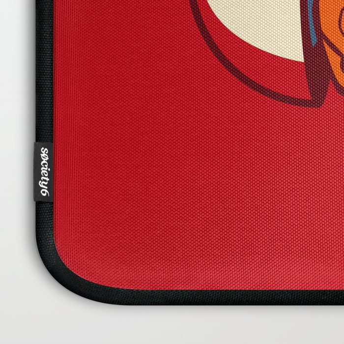 Poketryoshka - Fire Type Laptop Sleeve
