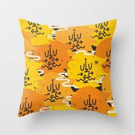 Barbas Otoño Throw Pillow