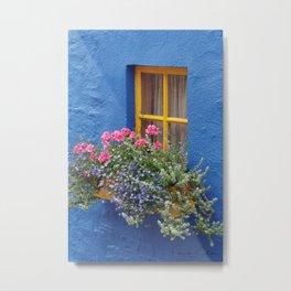 Blue House -Ireland Metal Print
