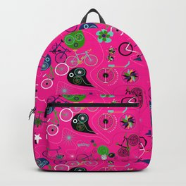 Cycledelic Pink Backpack