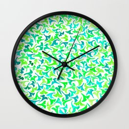 Ginko Leaves- Small Wall Clock
