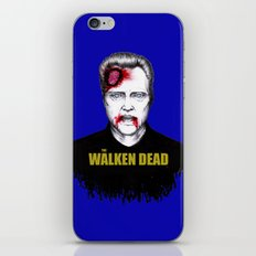 THE WALKEN DEAD iPhone & iPod Skin