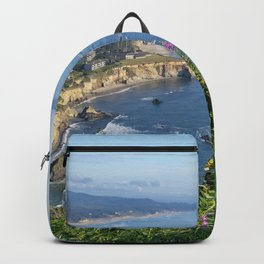 Otter Rock, Oregon from Cape Foulweather Vantage Point Backpack