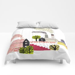 Small City Stories Comforters
