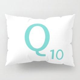 Blue Q Scrabble Art Initial Pillow Sham