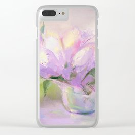 """Summer Bouquet"" oil painting by Diana Grigoryeva Clear iPhone Case"