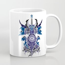 Gemini Skull Zodiac Sign For May and June Birth Day Gift Coffee Mug