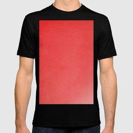 Fabulous red fiesta ombre gradient T-shirt