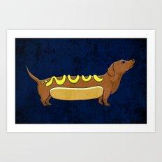 Wienerdog Art Print