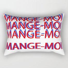 Mange-moi donc! Rectangular Pillow