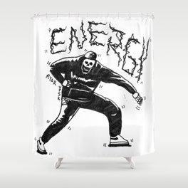 Drake's Energy is Eternal Shower Curtain