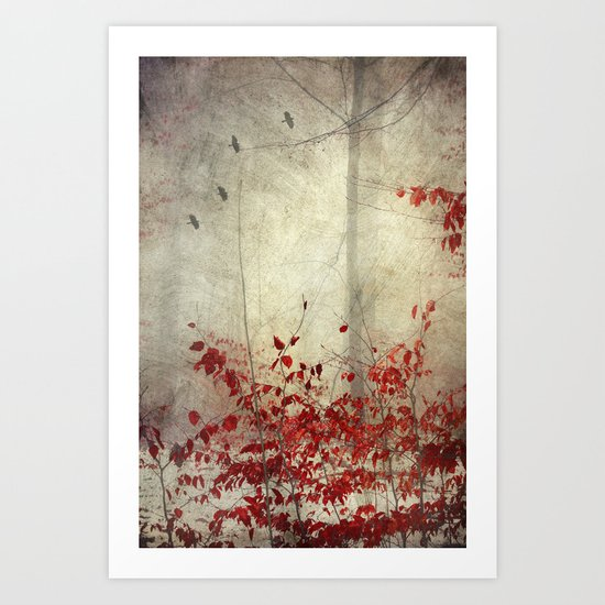 shadow of nOthing Art Print