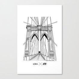 BKN Bridge Canvas Print