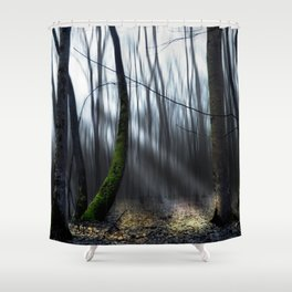 Searching the light Shower Curtain