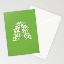 """A"" Vine Stationery Cards"