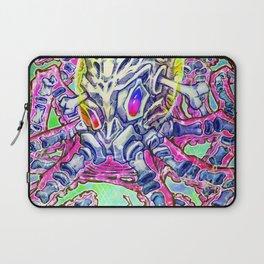 Skeleton Octopus Alien Laptop Sleeve