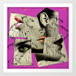 accupuncture Art Print