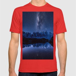 Night mountains T-shirt