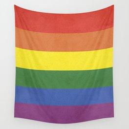 Rainbow stripes Wall Tapestry