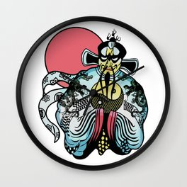 Jack Burton's Chinese Shirt Artwork, Films Posters, Prints, Tshirts, Bags, Men, Woman, Kids Wall Clock