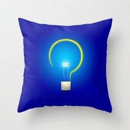 Great Idea Throw Pillow