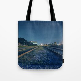 Train rail Tote Bag