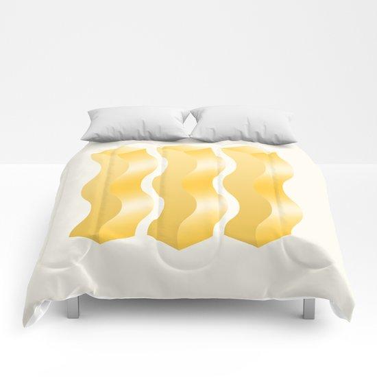 Geometric Vibes: Power  Comforters