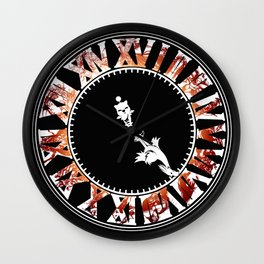 Final Hours (red) Wall Clock