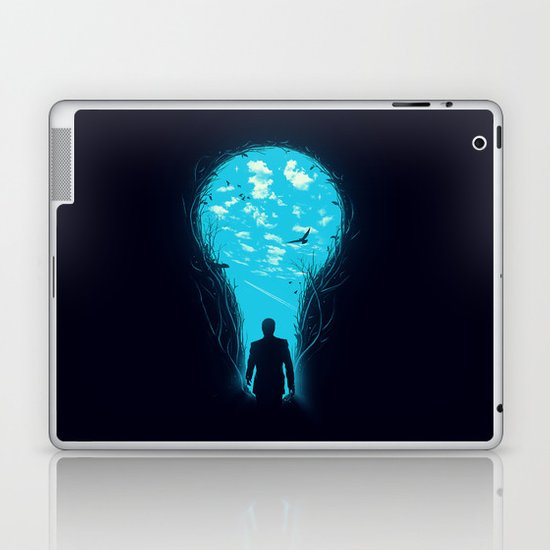 Bright Side Laptop & iPad Skin