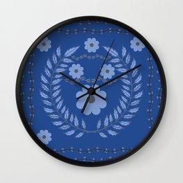 Flower Pattern12 Wall Clock