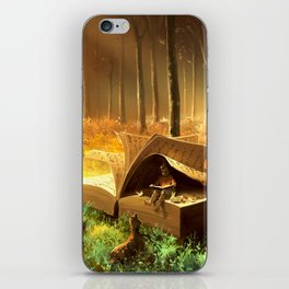A safe place where you can go iPhone Skin