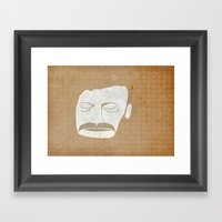 Bon Iver Framed Art Print
