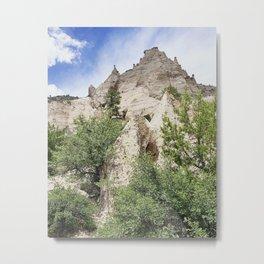 Kasha Katuwe Tent Rocks Metal Print