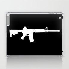 AR-15 (on black) Laptop & iPad Skin