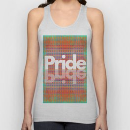 My Pride Flag (A Brilliant Tapestry) Unisex Tank Top
