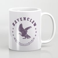 ravenclaw Mugs featuring Ravenclaw House by Shelby Ticsay
