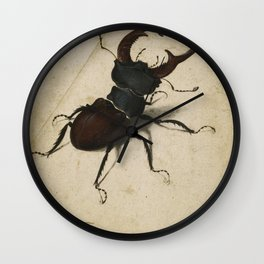Albrecht Durer - Stag Beetle Wall Clock