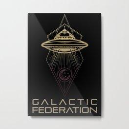 Galactic Federation of Light Metal Print