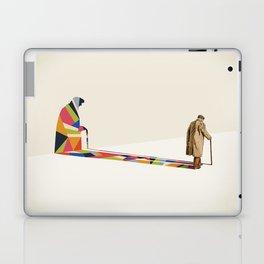 Walking Shadow, Old Man Laptop & iPad Skin