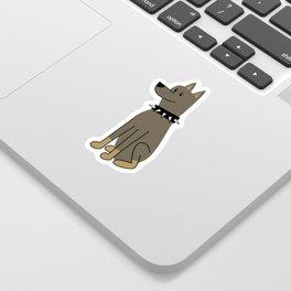 The Doberman Sticker