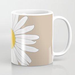 Sand Daisy Coffee Mug